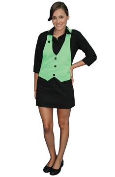 Ρουχα Εργασιας, φορμες εργασιας, στολες  της Ποδιά γιλέκο γυναικεία (ΚΩΔ: 1A111B)