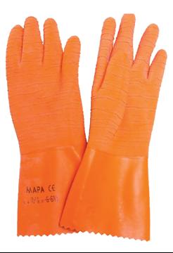 Ρουχα Εργασιας, φορμες εργασιας, στολες  της Γάντια χημικών ΜΑΡΑ HARPON 321 Συσκευασία των 5τεμ.(ΚΩΔ: 8260-020)