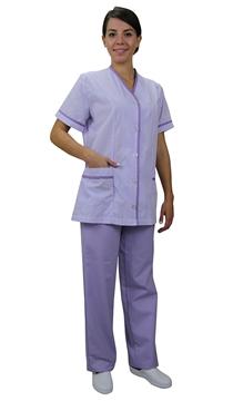 Ρουχα Εργασιας, φορμες εργασιας, στολες  της Σετ καμαριέρας (ΚΩΔ:1Z1251)
