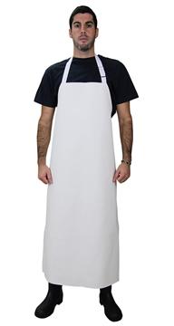 Ρουχα Εργασιας, φορμες εργασιας, στολες  της Ποδιά στήθους λάντζας 120 cm από δερματίνη (ΚΩΔ:1A116)