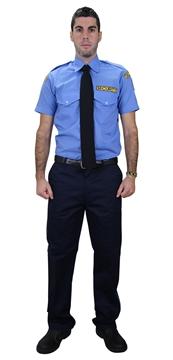 Ρουχα Εργασιας, φορμες εργασιας, στολες  της      Πουκάμισο security κοντό μανίκι (ΚΩΔ:1P1015)