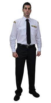 Ρουχα Εργασιας, φορμες εργασιας, στολες  της Πουκάμισο security μακρύ μανίκι (ΚΩΔ:S102)