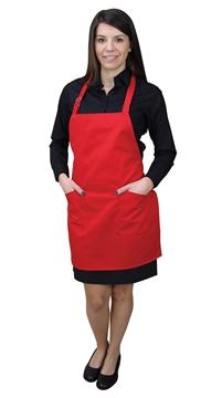 Ρουχα Εργασιας, φορμες εργασιας, στολες  της Ποδιά με στήθος γυναικεία (ΚΩΔ: 1A124)