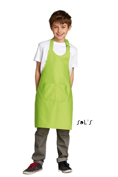 Ρουχα Εργασιας, φορμες εργασιας, στολες  της Παιδική μακριά ποδιά με τσέπες (ΚΩΔ:00599)