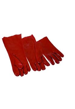 Ρουχα Εργασιας, φορμες εργασιας, στολες  της Γάντια  PVC 27cm Συσκευασια των 10 τεμ. (ΚΩΔ: 8200-101)