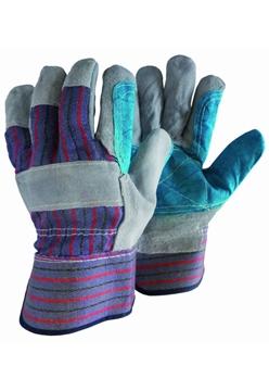 Ρουχα Εργασιας, φορμες εργασιας, στολες  της Γάντια δερματοπάνινα EN-Π  Συσκευασία των 10 τεμ. (ΚΩΔ: 8602-031)