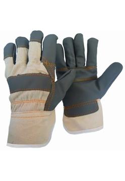 Ρουχα Εργασιας, φορμες εργασιας, στολες  της Γάντια δερματοπάνινα Α (S)  Συσκευασια των 10 τεμ. (ΚΩΔ: 8602-001)