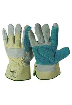 Ρουχα Εργασιας, φορμες εργασιας, στολες  της Γάντια δερματοπάνινα  EN-Π   Συσκευασια των 10 τεμ. (ΚΩΔ:8602-021)