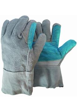 Ρουχα Εργασιας, φορμες εργασιας, στολες  της Γάντια δερμάτινα  Συσκευασια των 10 τεμ. (ΚΩΔ:8502-031)