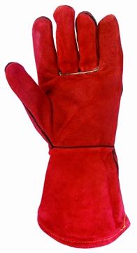 Ρουχα Εργασιας, φορμες εργασιας, στολες  της Γάντια δερμάτινα για ηλεκτροσυγκολλητές.  Συσκευασια των 5 τεμ. (ΚΩΔ:8502-901)