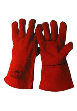 Ρουχα Εργασιας, φορμες εργασιας, στολες  της Γάντια δερμάτινα για ηλεκτροσυγκολλητές  Συσκευασια των 5 τεμ. (ΚΩΔ:8502-941)