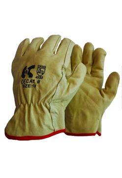Ρουχα Εργασιας, φορμες εργασιας, στολες  της Γάντια δερμάτινα DRIVER  Συσκευασία των 10 τεμ. (ΚΩΔ: 8502-000)