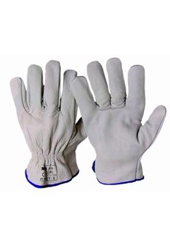 Ρουχα Εργασιας, φορμες εργασιας, στολες  της Γάντια δερμάτινα  Συσκευασια των 10 τεμ. (ΚΩΔ:8501-030)