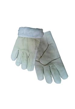 Ρουχα Εργασιας, φορμες εργασιας, στολες  της Γάντια δερμάτινα  Συσκευασια των 5 τεμ. (ΚΩΔ:8501-011)