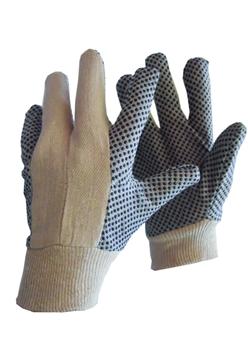 Ρουχα Εργασιας, φορμες εργασιας, στολες  της Γάντια πάνινα βαμβακερά  Συσκευασια των 10 τεμ. (ΚΩΔ:8300-021)