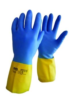 Ρουχα Εργασιας, φορμες εργασιας, στολες  της Γάντια χημικών ΜΑΡΑ DUOMIX Συσκευασία των 10 τεμ. (ΚΩΔ: 8260-050)