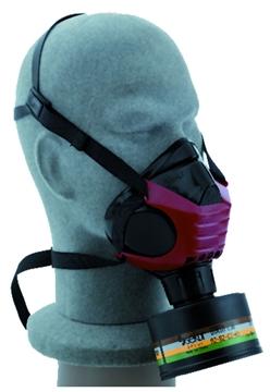 Ρουχα Εργασιας, φορμες εργασιας, στολες  της Μάσκα μισού προσώπου POLIMASK 2000 ALFA (ΚΩΔ:3101-015)
