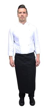 Ρουχα Εργασιας, φορμες εργασιας, στολες  της Ποδιά μάγειρα μισή με κάλυμμα (ΚΩΔ.:1A119)