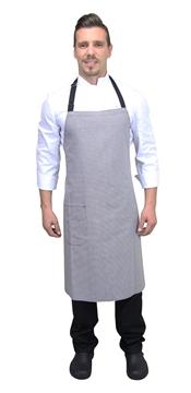 Ρουχα Εργασιας, φορμες εργασιας, στολες  της Ποδιά στήθος καρό  (ΚΩΔ:1A1090C)