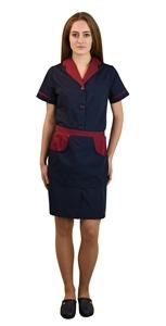 Ρουχα Εργασιας, φορμες εργασιας, στολες  της Σετ καμαριέρας (ΚΩΔ.:1A1562)
