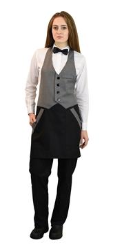 Ρουχα Εργασιας, φορμες εργασιας, στολες  της Ποδιά γιλέκο unisex (ΚΩΔ.:1A1567)