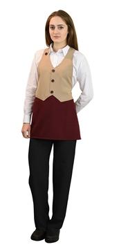 Ρουχα Εργασιας, φορμες εργασιας, στολες  της Ποδιά γιλέκο γυναικεία (ΚΩΔ.:1A1574)