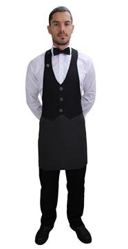 Ρουχα Εργασιας, φορμες εργασιας, στολες  της Ποδιά γιλέκο unisex 80εκ (ΚΩΔ: 1A1114B)