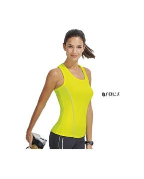Ρουχα Εργασιας, φορμες εργασιας, στολες  της Γυναικείο φανελάκι για τρέξιμο (ΚΩΔ:01418)