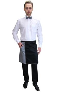 Ρουχα Εργασιας, φορμες εργασιας, στολες  της Ποδιά σέρβις  δίχρωμη (ΚΩΔ.:1N1001)