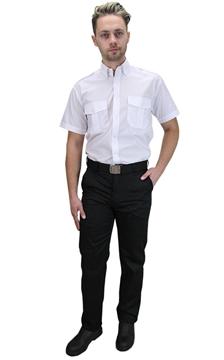 Ρουχα Εργασιας, φορμες εργασιας, στολες  της Πουκάμισο security με κοντό μανίκι (ΚΩΔ.:S101)