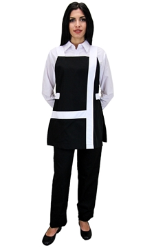 Ρουχα Εργασιας, φορμες εργασιας, στολες  της Ποδιά γυναικεία δετή (ΚΩΔ.: 1N1036B)