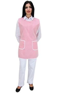 Ρουχα Εργασιας, φορμες εργασιας, στολες  της Μπλούζα γυναικεία αμάνικη δετή ριγέ (ΚΩΔ.:1N1028)