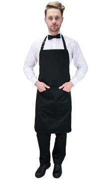 Ρουχα Εργασιας, φορμες εργασιας, στολες  της Ποδιά στήθους με διπλή τσέπη (ΚΩΔ.:1N1049)