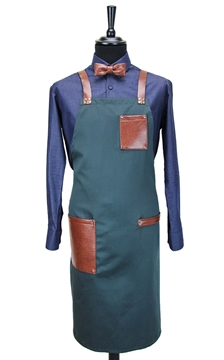 Ρουχα Εργασιας, φορμες εργασιας, στολες  της Ποδιά στήθους χιαστή με κρίκο (ΚΩΔ.:1N1068)