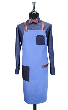 Ρουχα Εργασιας, φορμες εργασιας, στολες  της Ποδιά στήθους χιαστή με κρίκο (ΚΩΔ.:1N1069)