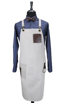 Ρουχα Εργασιας, φορμες εργασιας, στολες  της Ποδιά στήθους χιαστή (ΚΩΔ.: 1N1072)