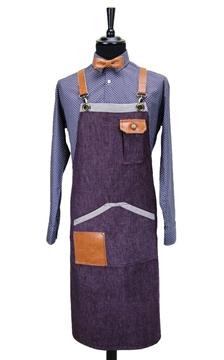 Ρουχα Εργασιας, φορμες εργασιας, στολες  της Ποδιά Τζίν χιαστή (ΚΩΔ.: 1N1076)