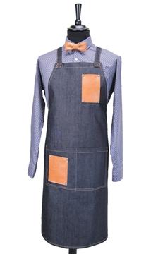 Ρουχα Εργασιας, φορμες εργασιας, στολες  της Ποδιά Τζίν χιαστή (ΚΩΔ.: 1N1077)