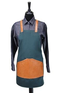 Ρουχα Εργασιας, φορμες εργασιας, στολες  της Ποδιά στήθους γυναικεία χιαστή/ύφασμα (ΚΩΔ.:1N1062)