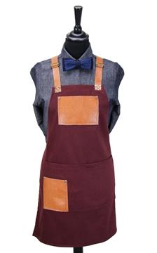 Ρουχα Εργασιας, φορμες εργασιας, στολες  της Ποδιά στήθους γυναικεία χιαστή με κρίκο (ΚΩΔ.:1N1052)