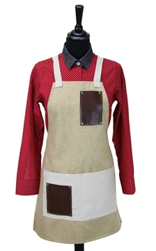 Ρουχα Εργασιας, φορμες εργασιας, στολες  της Ποδιά στήθους γυναικεία χιαστή (ΚΩΔ.:1N1053)