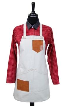 Ρουχα Εργασιας, φορμες εργασιας, στολες  της Ποδιά στήθους γυναικεία χιαστή (ΚΩΔ.:1N1054)