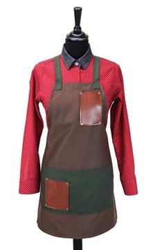Ρουχα Εργασιας, φορμες εργασιας, στολες  της Ποδιά στήθους γυναικεία χιαστή (ΚΩΔ.:1N1055)