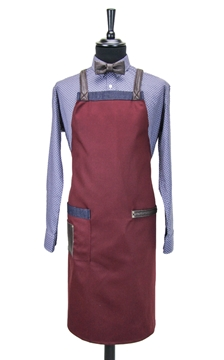 Ρουχα Εργασιας, φορμες εργασιας, στολες  της Ποδιά στήθους χιαστή/ύφασμα (ΚΩΔ.:1N1081)