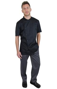 Ρουχα Εργασιας, φορμες εργασιας, στολες  της Σακάκια μάγειρα/Σεφ κοντομάνικα