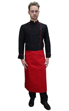 Ρουχα Εργασιας, φορμες εργασιας, στολες  της Σακάκια μάγειρα/Σεφ μακρυμάνικα