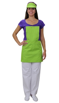 Ρουχα Εργασιας, φορμες εργασιας, στολες  της       Ποδιά στήθος γυναικεία (ΚΩΔ:1A1312)