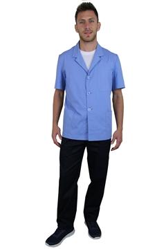 Ρουχα Εργασιας, φορμες εργασιας, στολες  της Σακάκι ανδρικό με πέτο γιακα κοντό μανίκι (ΚΩΔ.1S1011)