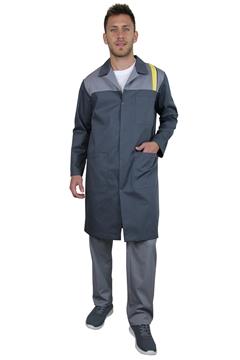Ρουχα Εργασιας, φορμες εργασιας, στολες  της Ρόμπα αντρική δίχρωμη  (ΚΩΔ.1B1124)