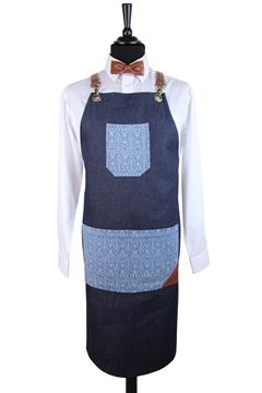 Ρουχα Εργασιας, φορμες εργασιας, στολες  της Ποδιά τζίν χιαστή (ΚΩΔ.:1N1095)